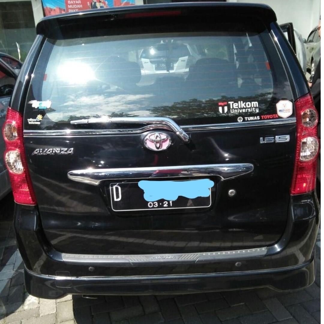 Toyota Avanza Tipe - S