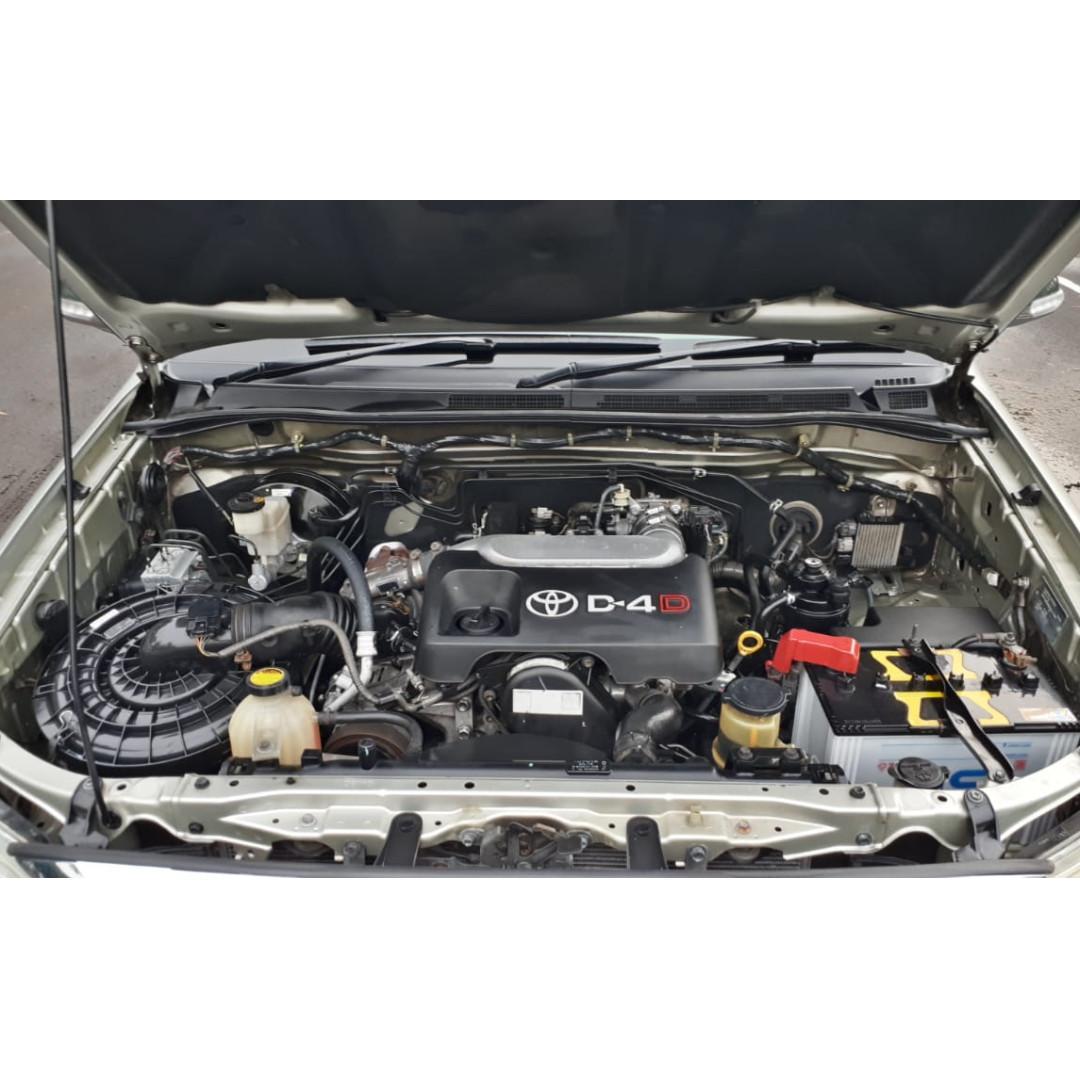 Toyota Fortuner 2.5 G Diesel a/t 2010