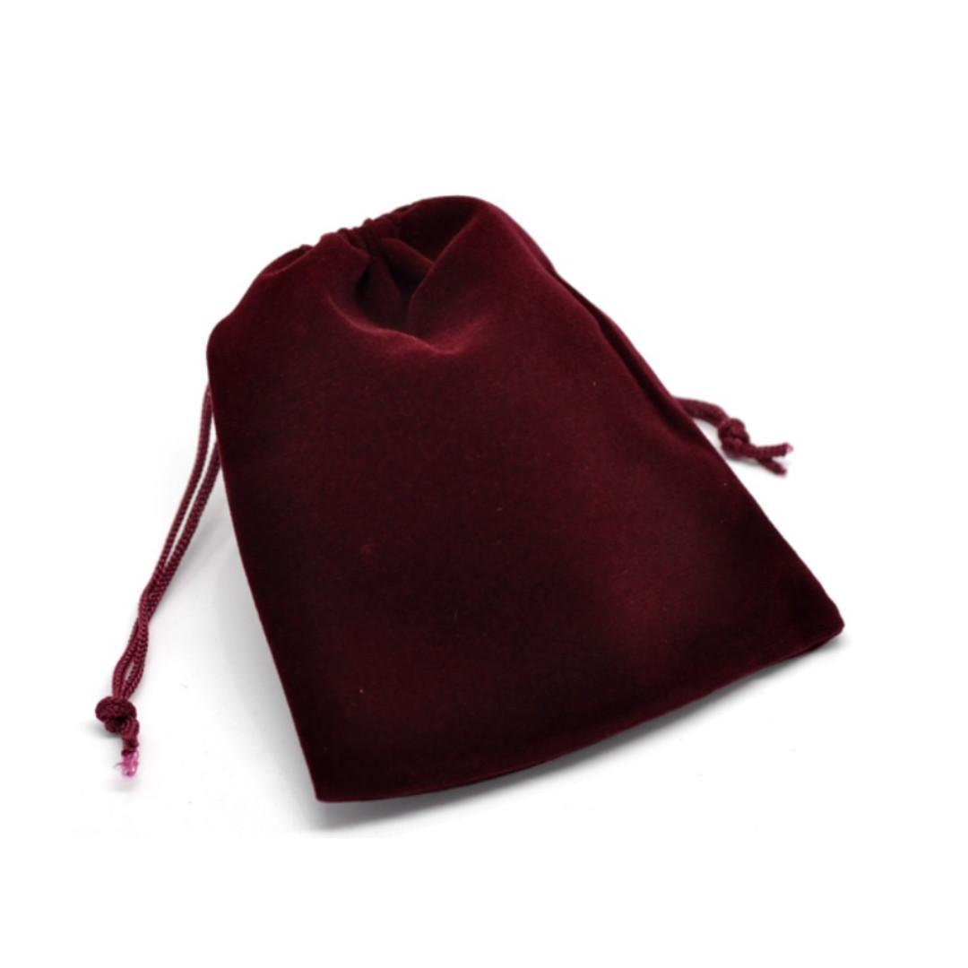 Velvet (10x12cm) Pouch (Various Colours & Sizes Available)