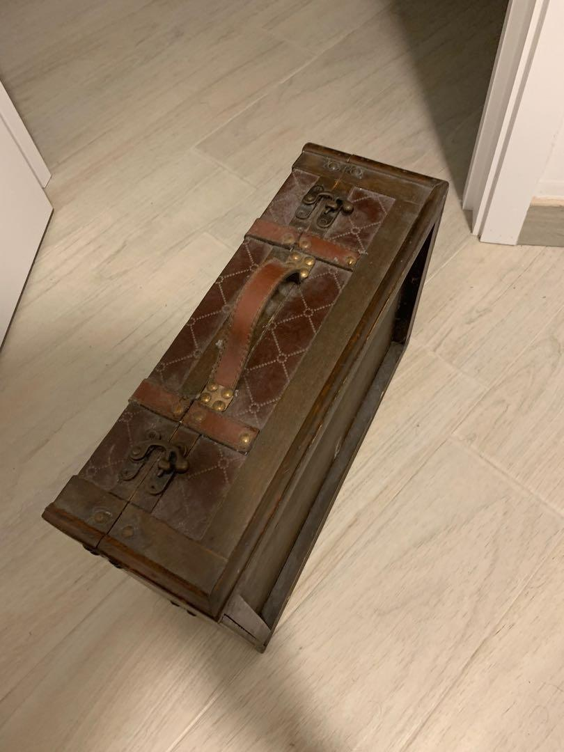 Vintage wooden box 懷舊木箱