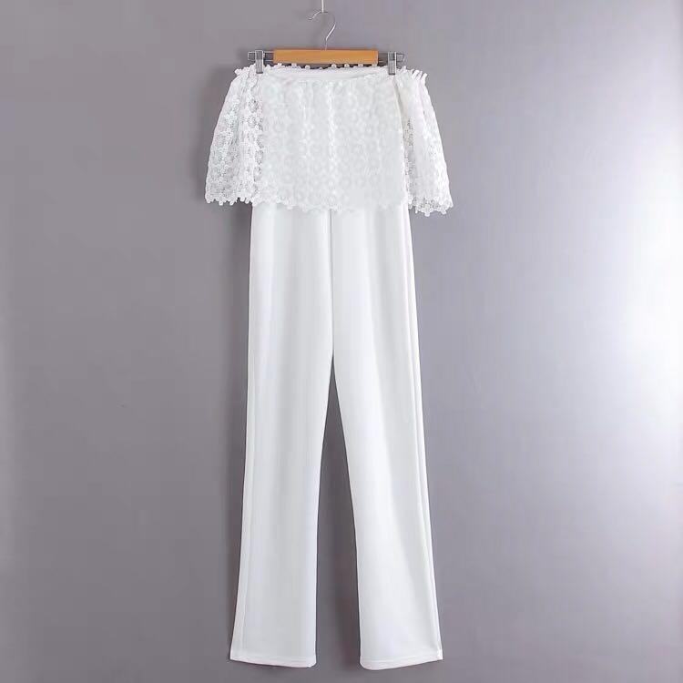 cac84936b White Lace Off Shoulder Two Way Jumpsuit / Romper (Ready Stock Sold ...