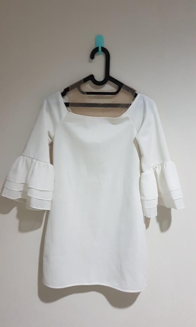 White Sabrina Top / Dress
