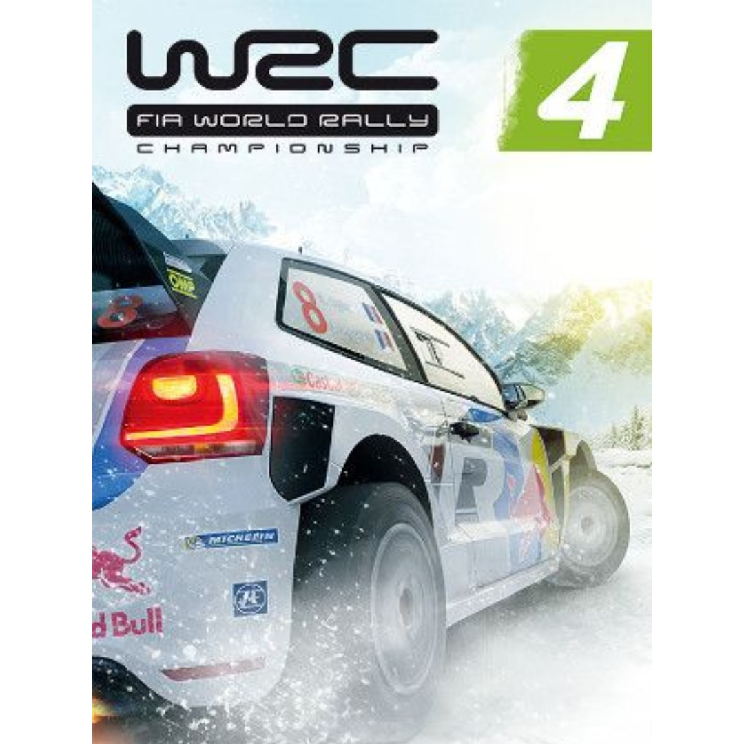 WRC 4 FIA World Rally Championship Offline with DVD - PC Games
