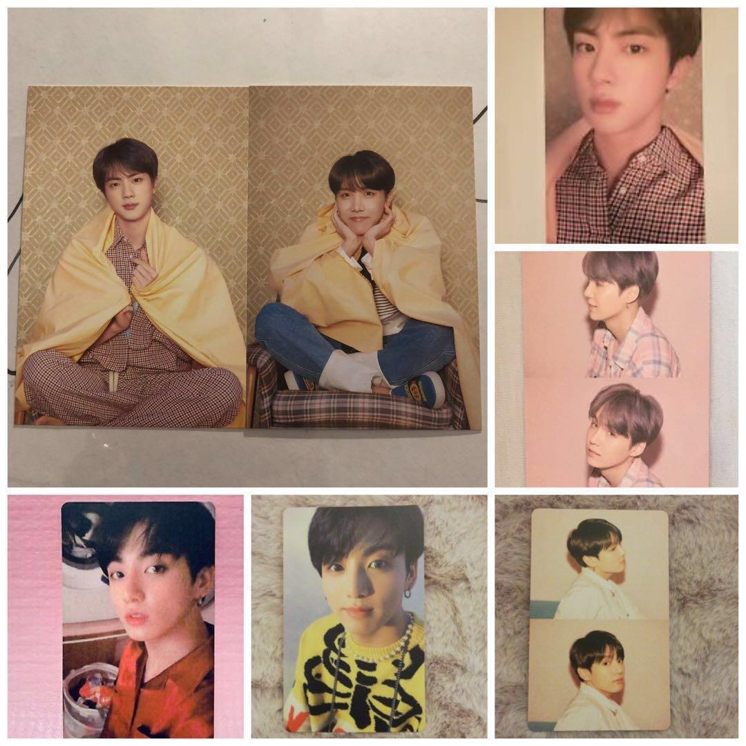 [WTT] Map Of The Soul Persona Photocards/Postcards BTS