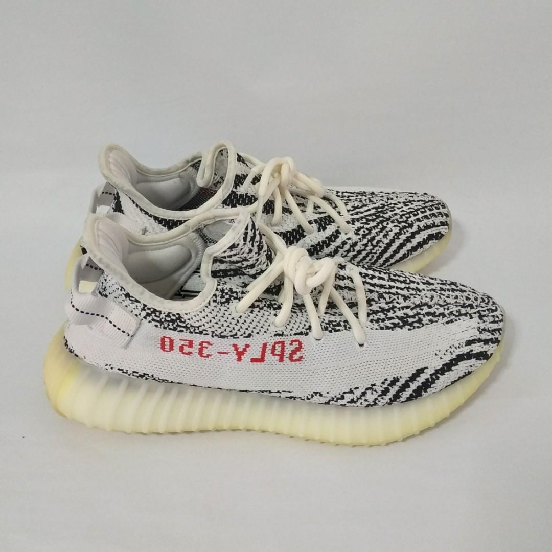 purchase cheap beee5 f690a Yeezy Boost 350 V1 Zebra, Men's Fashion, Footwear, Sneakers ...