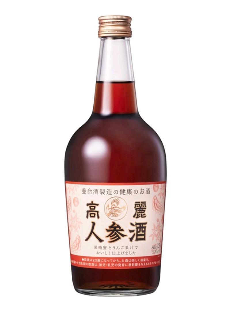 YOMEISHU 日版 養命酒系列 三種人參混合草藥酒 700ml