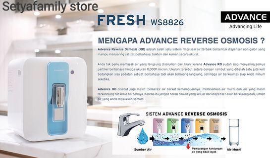 Dispenser Reverse Osmosis ADVANCE FRESH