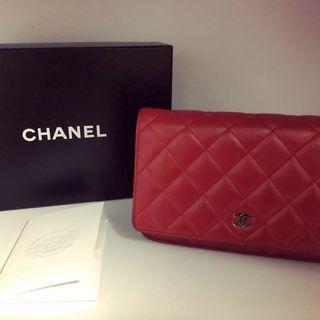 Chanel WOC wallet cardholder card holder bag
