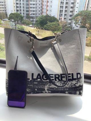 🚚 Preloved Karl Lagerfeld Reversible Tote Bag