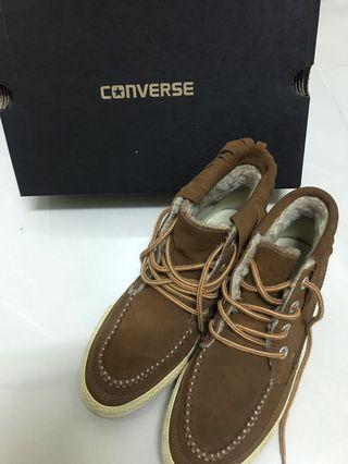🚚 Converse內刷毛高筒帆布鞋