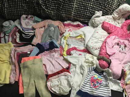 Baby clothes etc