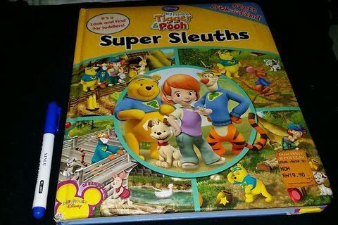 Super Sleuths (my friends Tigger & Pooh)by Disney😍
