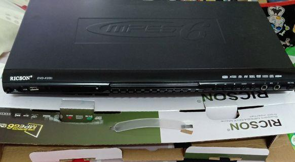 RICSON DVD Player with card reader