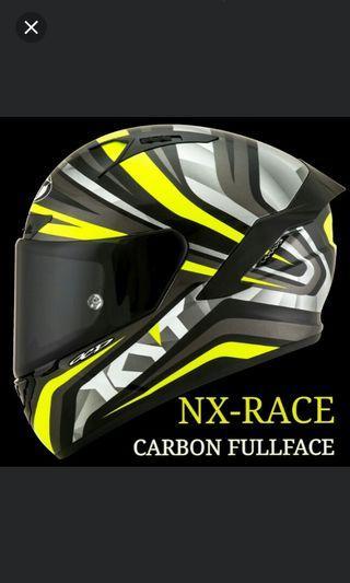 KYT NX-RACE CARBON FULLFACE