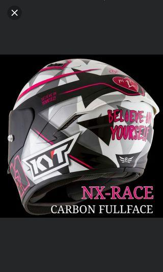 KYT NX- RACE CARBON FULLFACE.