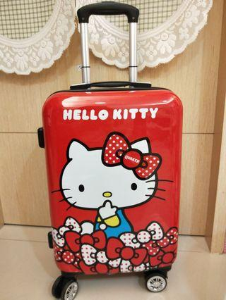 Hello kitty 20吋行李箱 登機箱(紅色)