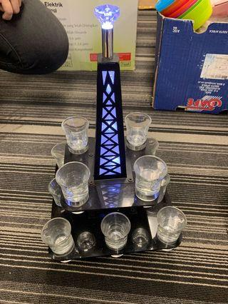 Cocktails tower