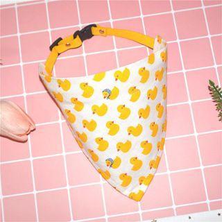 (local stock) AFL Yellow Ducky Bandana Pet Collar