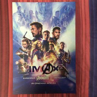 🚚 Avengers: Endgame IMAX Poster
