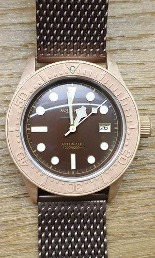 Aquatico Sea Star Bronze (Brown Dial)