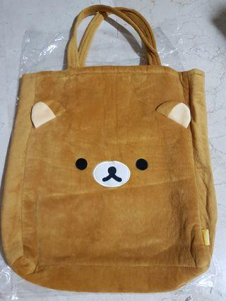 🚚 💟 Authentic Rilakkuma tote/shoulder bag