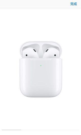 Apple AirPods 2 無線充電版