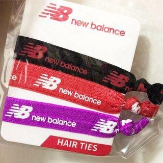 New Balance hair ties 運動用紮頭髮橡筋