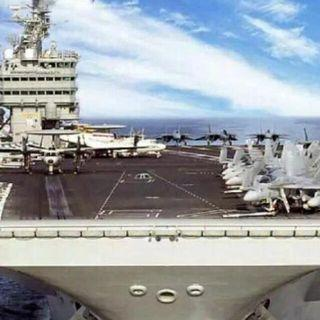 CVN-70 CARL VINSON 1/700 Scale Model Kit 30cm Length When Built Brand New Sealed In Box Only 1 Available
