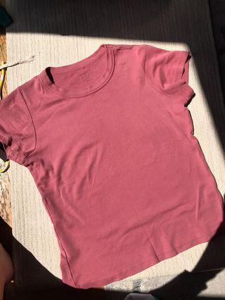 J. Galt Brandy Melville Pink Tshirt