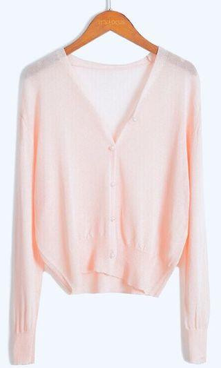 粉紅色珍珠外套