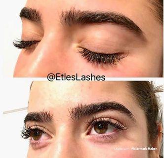 Classic eyelash extension