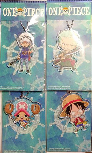 One Piece 4 Characters Set