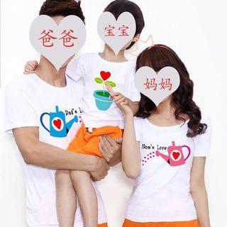 Customize Family T shirt/ couple T shirt/ school class t shirt/pet t shirt