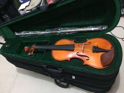 Violin 小提琴 3/4 全新