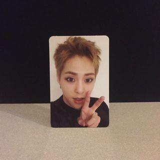 EXO XIUMIN OFFICIAL FOR LIFE PC PHOTOCARD
