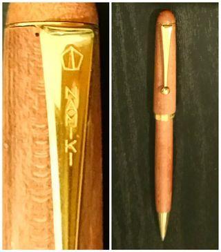 🚚 Namiki Maple Wood Ballpoint Pen - Made in Japan