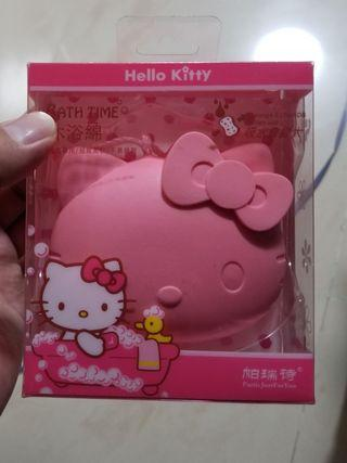 Hello Kitty 沖涼棉