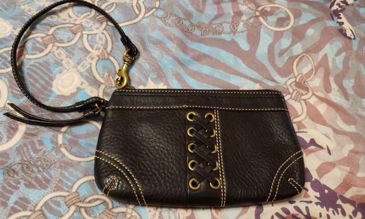 Coach 袋仔  100%real 7吋 small wristlet