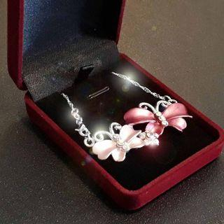 June Holiday Special. Butterfly Design Pendant with 925 silver necklace.