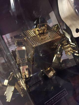 初代 Gx 32 超合金魂18K 黃金戰士 黃金俠 連限定Display 盒