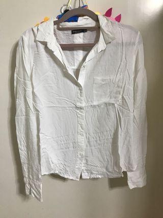 Bershka 白恤衫