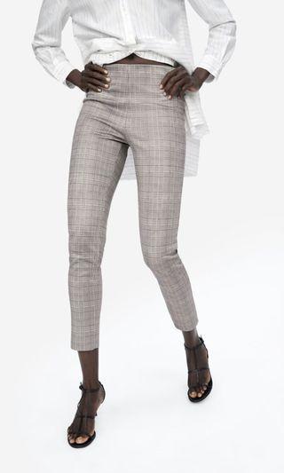 NWOT Zara checked pants