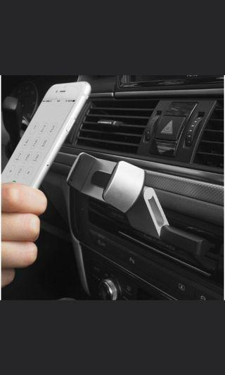 🚚 全新現貨,CD孔手機支架一隻手就能操作,方便實用好看可橫向