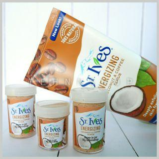 St. Ives Energizing Coconut and Coffee Scrub