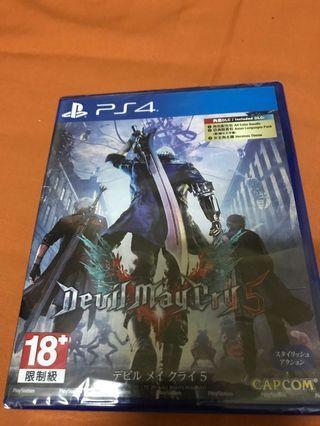 🚚 惡魔獵人5。 PS4. 中文版。有DLC