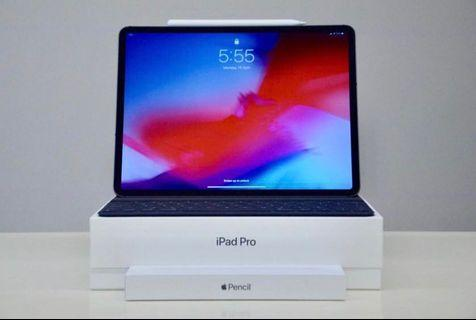 "2018 11"" iPad Pro 512 GB Cellular Apple Keyboard  Pencil"