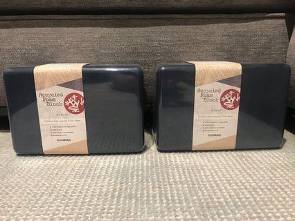 Manduka yoga foam block