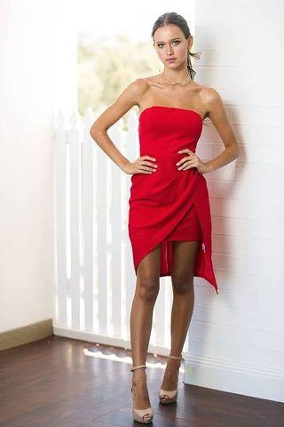 New Red dress size 10