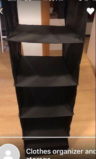 7層懸掛式衣物收納盒 免費自取
