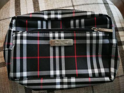 Burberry blue label bag化妝袋